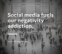 Social Media and Negativity
