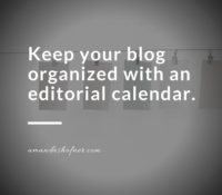 What Are Editorial Calendars and Why Do I Need One?
