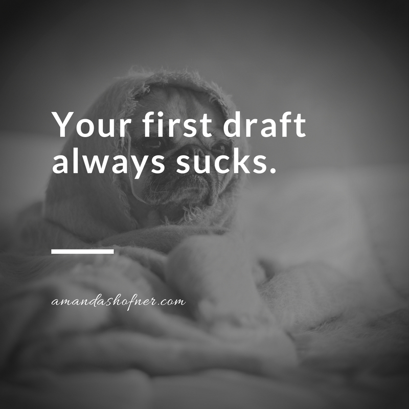 first-draft-sucks