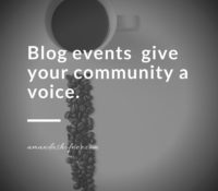 Why Blog Events Work