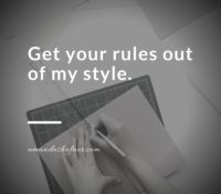 Your Rules Aren't My Style: Why Consistency Should Always Win