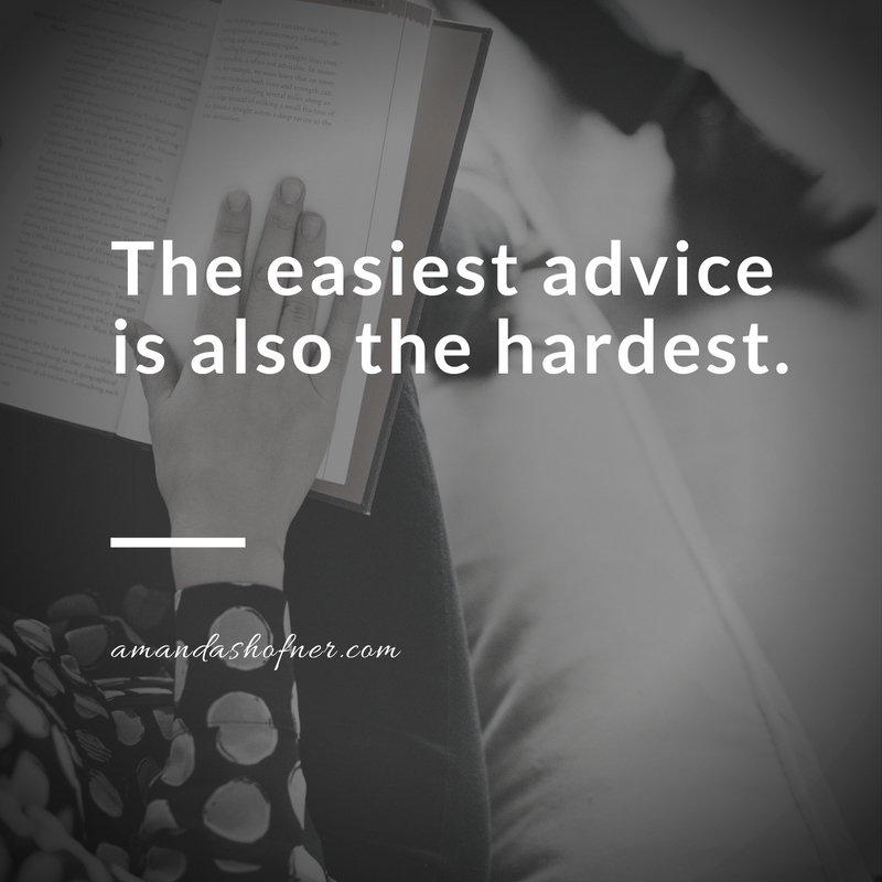 easiest-hardest-advice