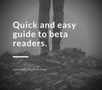 A Quick and Easy Guide to Beta Readers