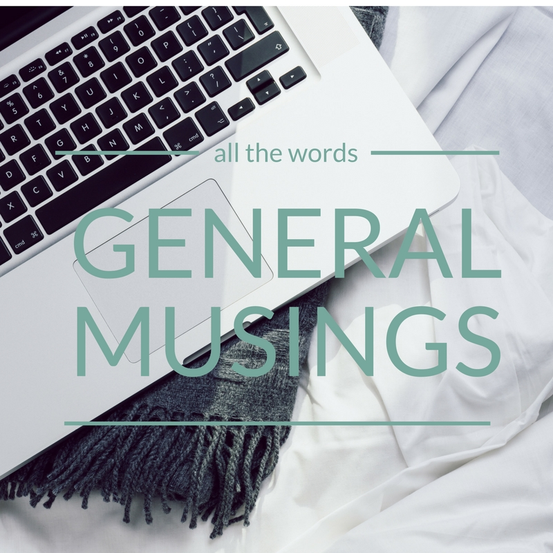 general-musings