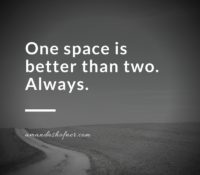 One Space Between Sentences Is Better Than Two