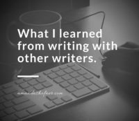 Lessons from The Writing Sidekick: What I Learned About Writing and Writing Groups