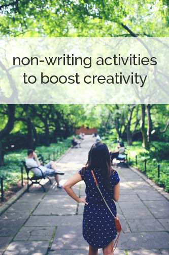 Non-writing activities to boost creativity