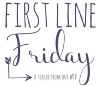 First Line Friday — More Redemption!