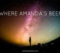 Where Has Amanda Been? (2015 Recap, Plus 2016 Goals)