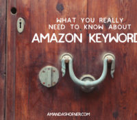 What You Need to Know About Amazon Keywords