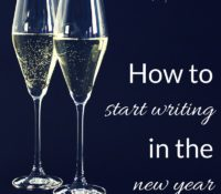 How to Start Writing in the New Year