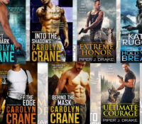 The top 3 romantic suspense books or series I've read lately
